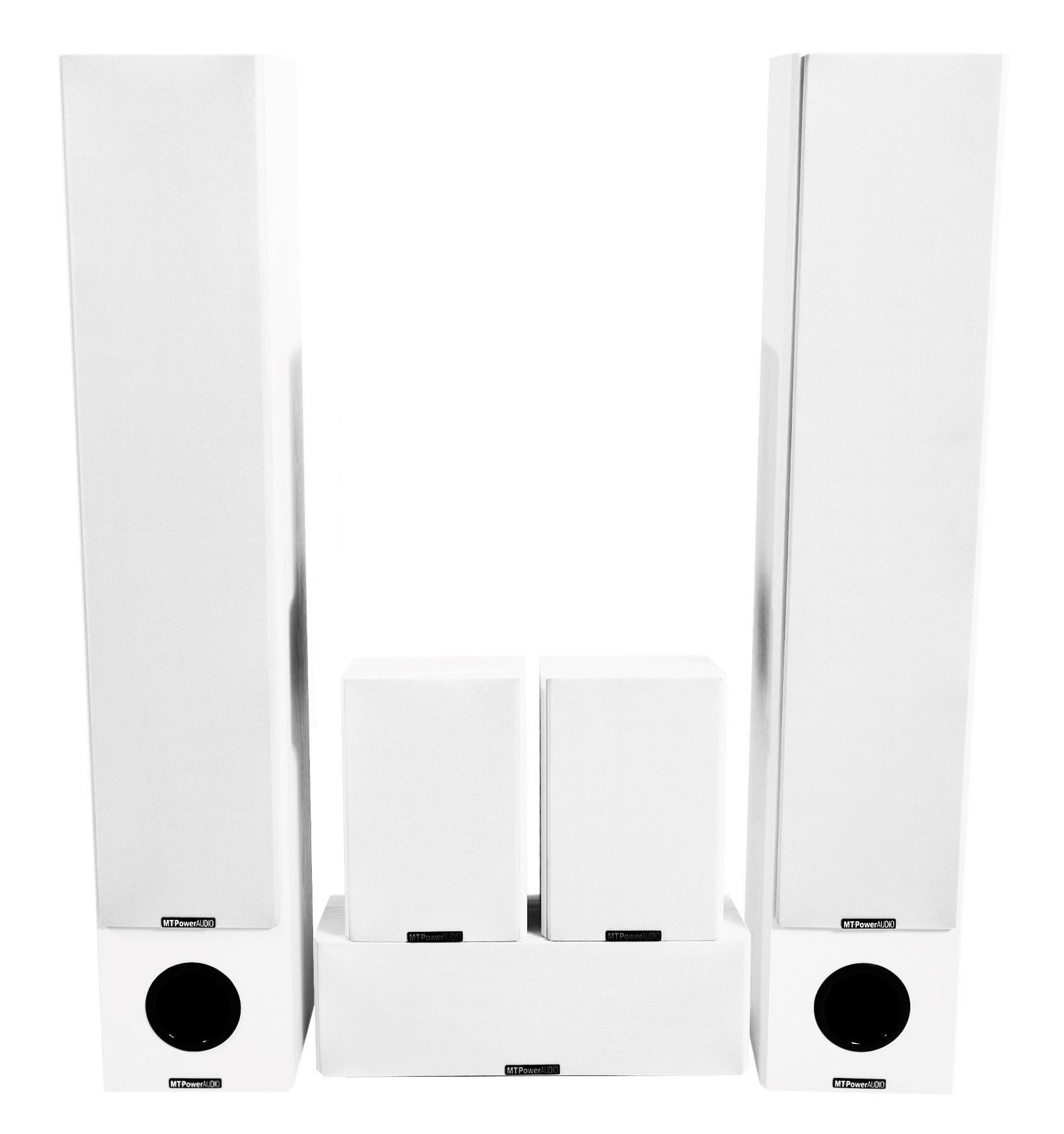 Комплект акустики MT-Power Performance XL white set 5.0 (white grills)