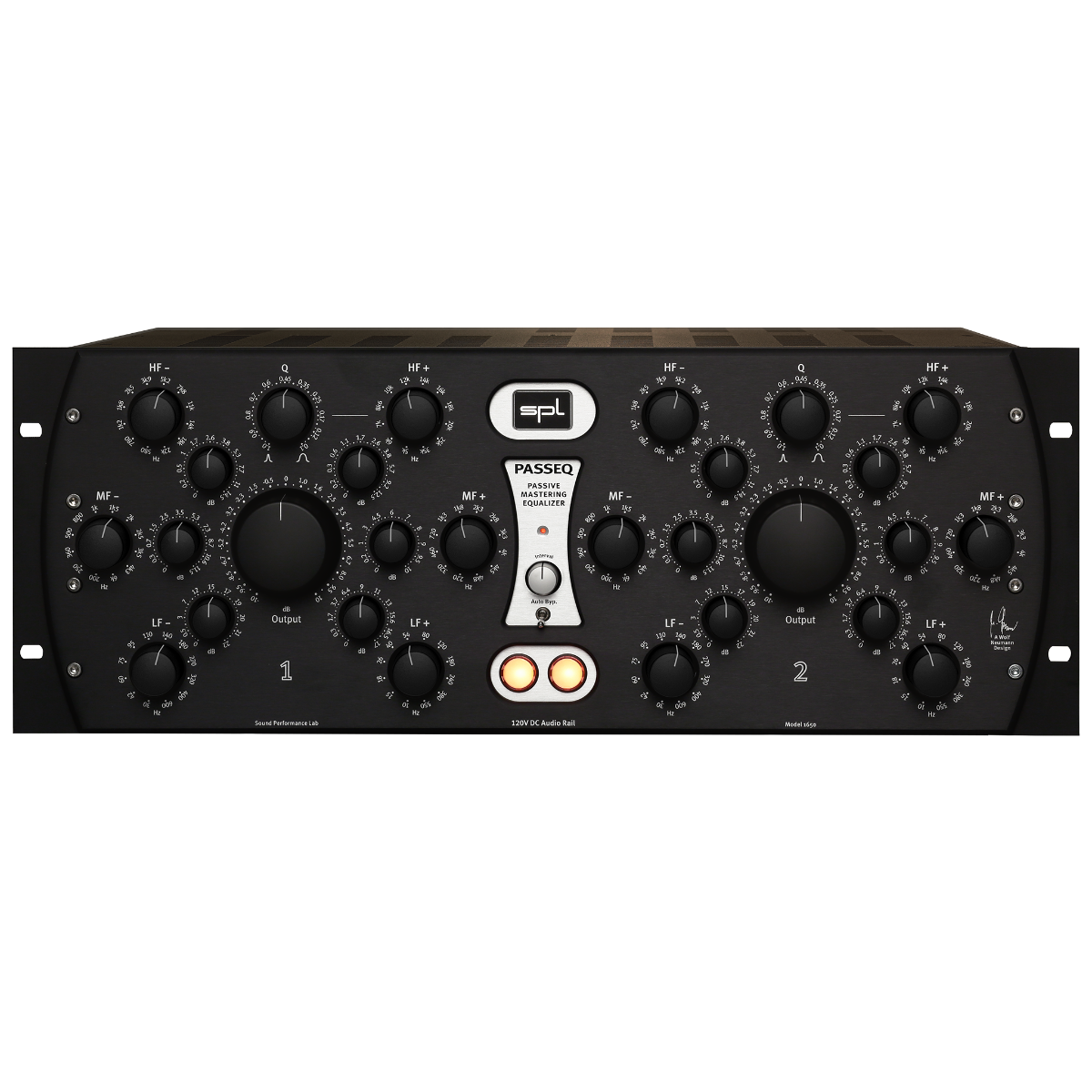 Эквалайзер SPL Passeq 2595 black&silver