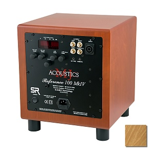 Сабвуфер MJ Acoustics Reference 100 Mk4 SR light oak