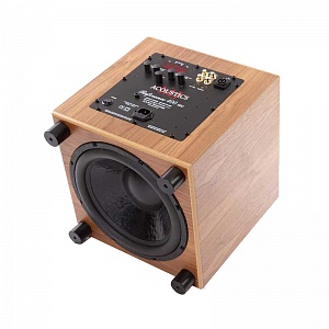 Сабвуфер MJ Acoustics Reference 400 SR walnut