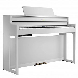 Цифровое пианино Roland HP704-WH + KSH704/2WH