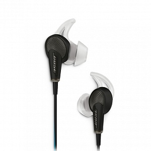 Наушники Bose QC20 Headphone Mfi Black WW (718839-0010)