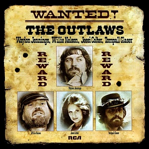 Виниловая пластинка Jennings, Waylon / Colter, Jessi / Nelson, Willie / Glaser, Tompall, Wanted! The Outlaws (Black Vinyl)