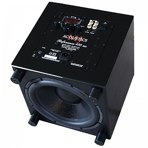 Сабвуфер MJ Acoustics Reference 400 SR black ash