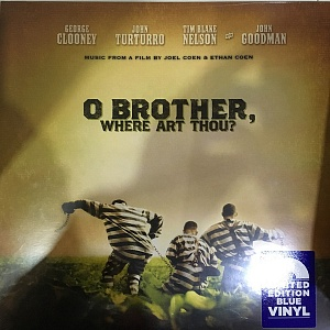 Виниловая пластинка Various Artists, O Brother, Where Art Thou? (Blue Vinyl)
