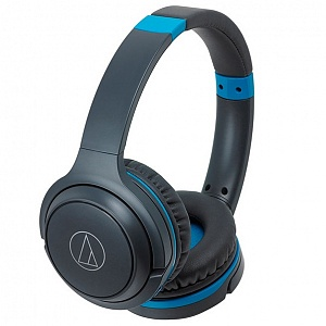 Наушники Audio Technica ATH-S200BT blue