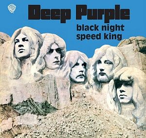 Виниловая пластинка WM Deep Purple Black Night / Speed King (BLUE OPAQUE VINYL IN PICTURE BAG)