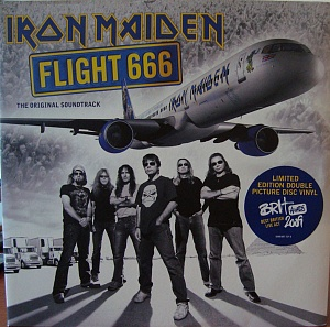Виниловая пластинка PLG Iron Maiden Flight 666 - The Original Soundtrack (Picture Vinyl)